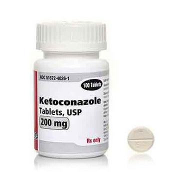 ケトコナゾール 200mg 100錠